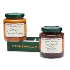 Stonewall Kitchen Dark Chocolate Sea Salt Caramel Sauce Placement Of Cabinet Knobs And Pulls