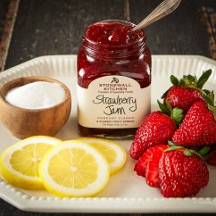 Stonewall Kitchen Com Cherry Wood Island Strawberry Jam Jams Preserves And Spreads