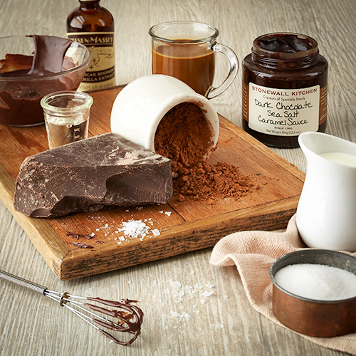 stonewall kitchen dark chocolate sea salt caramel sauce faucet with handspray | dessert sauces ...