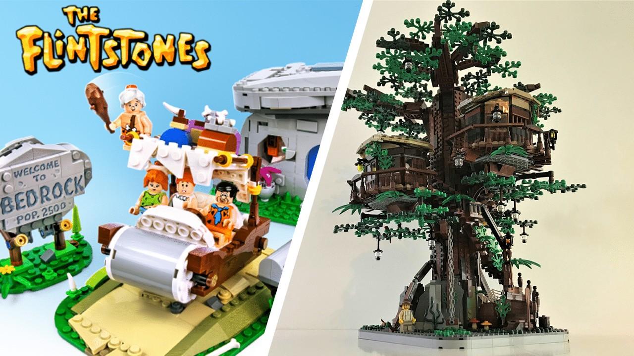 Lego Ideas The Flintstones Und Das Baumhaus Werden Realisiert