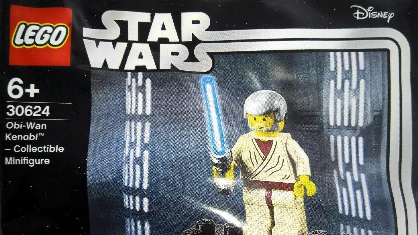 Lego Star Wars 30624 Obi Wan Kenobi 20th Anniversary Polybag