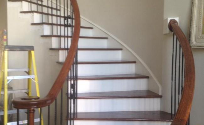 Hardwood Floors And Stairs Installed Houston