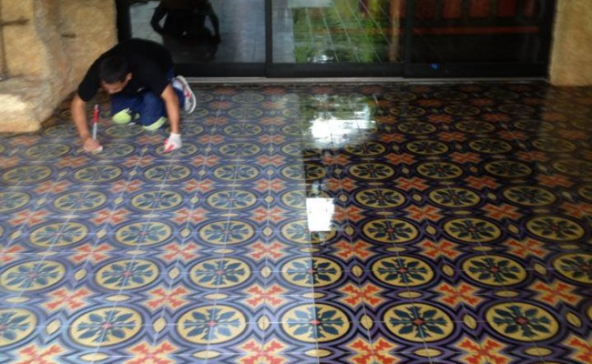mexican tile cleaning polishing and