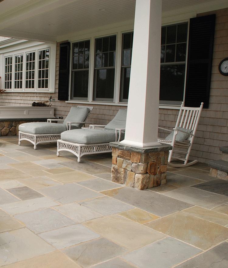pennsylvania bluestone pavers patio