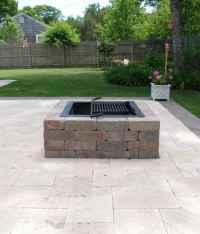 Square Fire Pit Kit - Modular Stone Fire Pits | Cape Cod ...