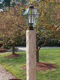 Wood Outdoor Lamp Posts Residential
