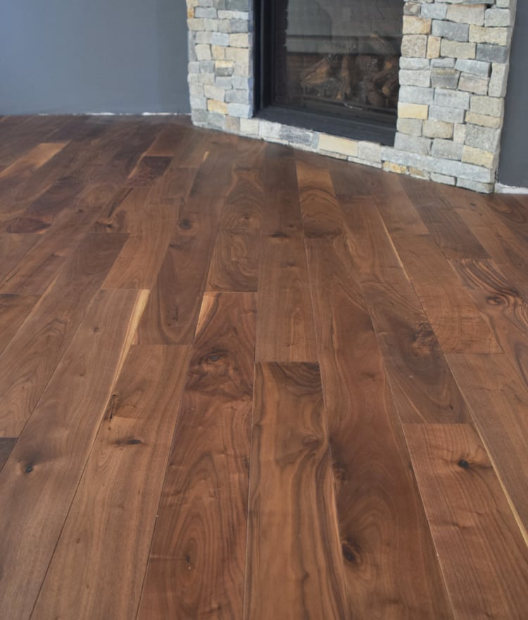 Walnut Prefinished Flooring  Cape Cod MA  Hardwood Flooring
