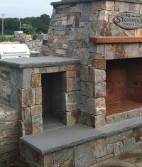 Outdoor Fireplaces - Stone Fireplace Kits | Cape Cod MA ...