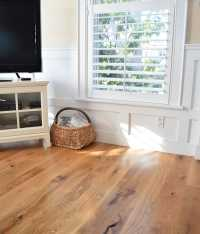 Rustic White Oak Plank Flooring