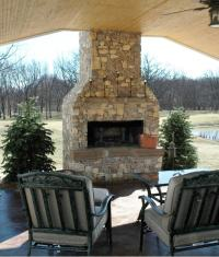 Diy Outdoor Gas Fireplace Plans