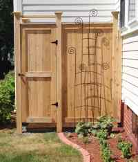 Outdoor Shower Kit - Cedar Shower Enclosure Designs, Ideas ...