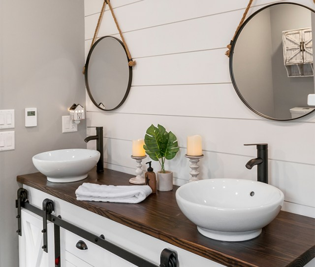 White Shiplap Staircase With Esplanade Flooring
