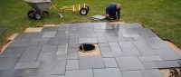 How to Install Pavers   Installing a Patio   Step by Step ...