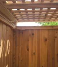 Outdoor Shower Privacy Panel | Stonewood Products