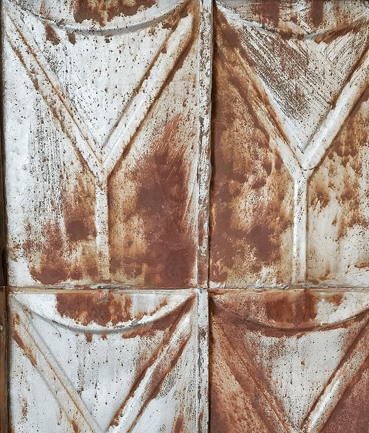 Reclaimed Tin Tiles