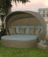 Dreux Outdoor Daybed | Ebel Outdoor Furniture | Stonewood ...