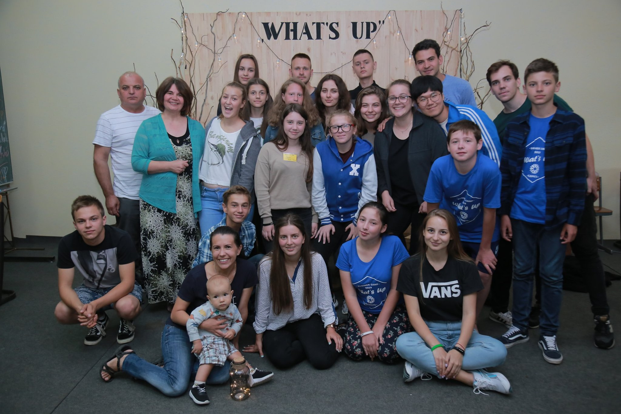 """Summer Youth Camp """"What's Up"""" – Ukraine"""