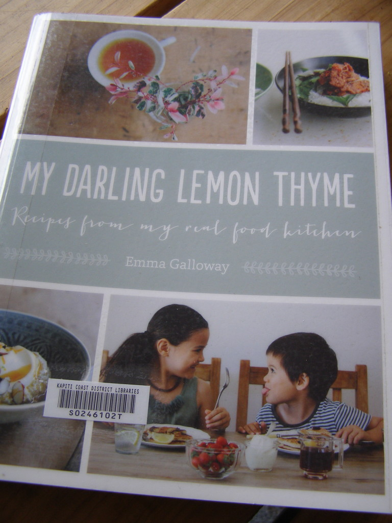 My Darling Lemon Thyme, Emma Galloway, gluten free, vegetarian,  cookbook