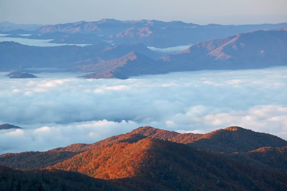 Fall Smoky Mountains Wallpaper Your Complete Guide To Enjoying The Fall Foliage In