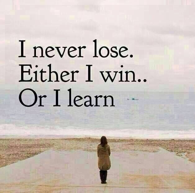 Image result for i never lose i either win or learn mandela