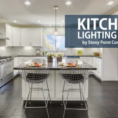Kitchen Lighting Portable Cart Tips Stony Point Construction