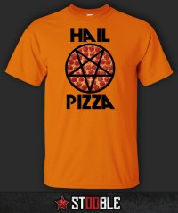 Hail Pizza T-Shirt - New - Direct from Manufacturer | eBay