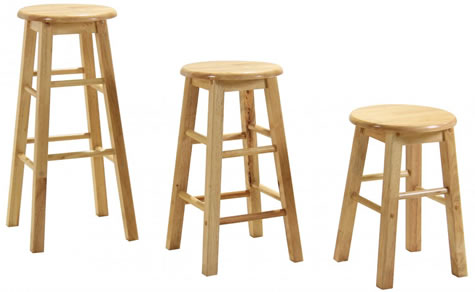 kitchen stool remodel on a budget zapon wooden bar fixed height various sizes