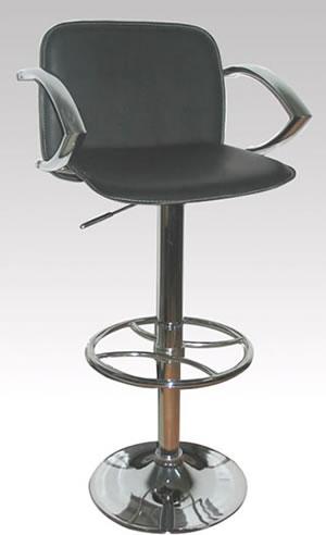 revolving chair for kitchen desk ergonomic kneeling swivel breakfast bar stools chrome stainless steel wood rimini adjustable armrest stool