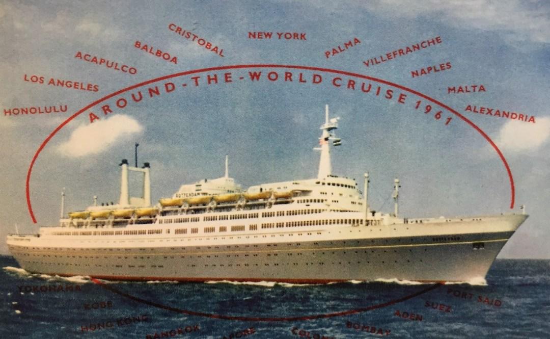 First world cruise ss Rotterdam