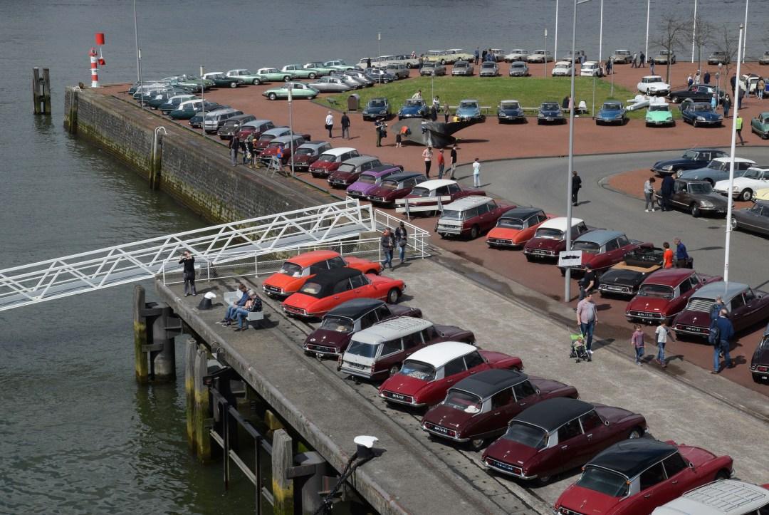 Snoeken bij het ss Rotterdam