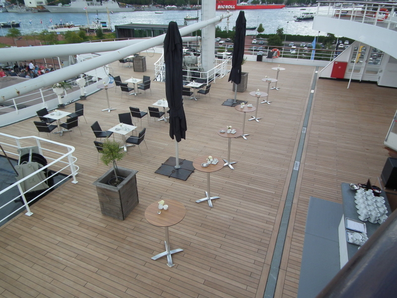 Renovatie UP-deck is voltooid
