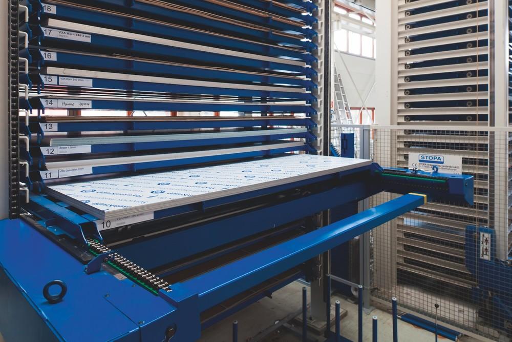 STOPA Tower Flex  Sheet Metal Storage Systems