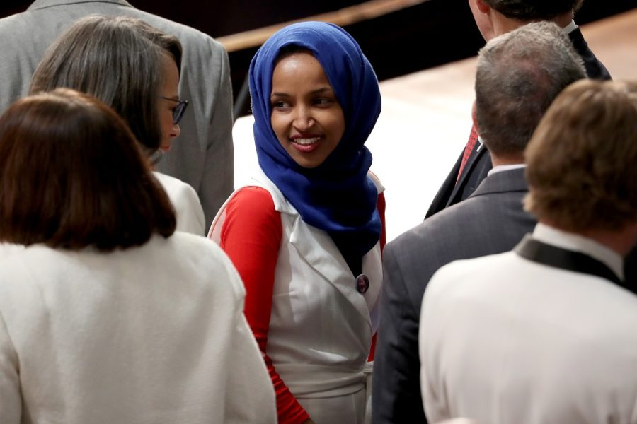 Trump en Congreslid Ilhan Omar Is Trump racistisch of is Omar ondankbaar?'
