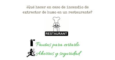 Qué hacer en caso de incendios en las cocinas de restaurantes y hoteles