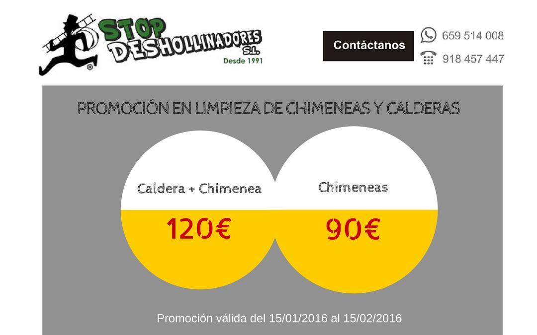 ¡¡Promoción Stop Deshollinadores!!