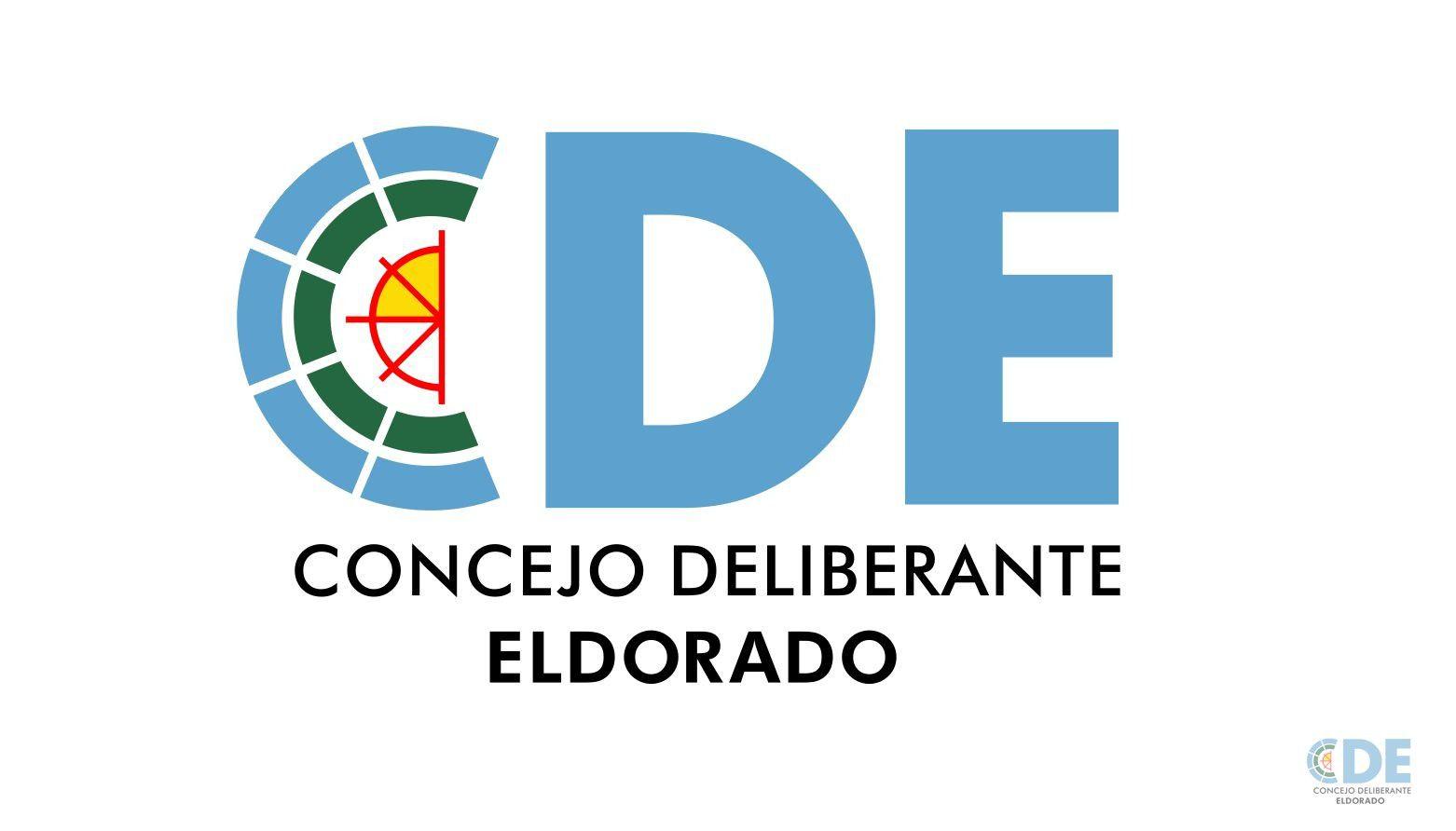 Nuevo sello emblema del Concejo Deliberante de Eldorado