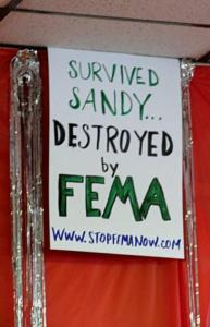 survived by sandy destroyed by fema