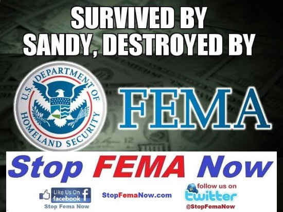 Destroyed by fema