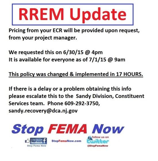 RREM update