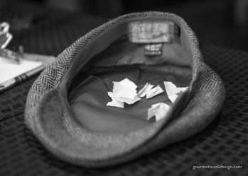 The hat of chance.