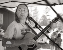 Road to Rich's: Rob Dutton on the side stage