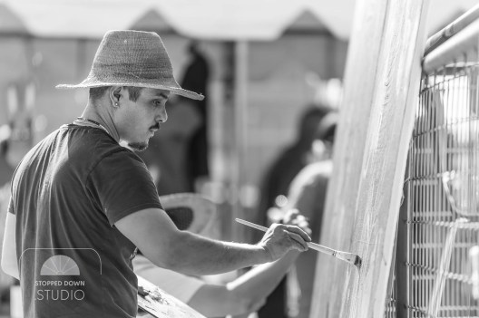 Bees & Seeds 2016: Live Painting