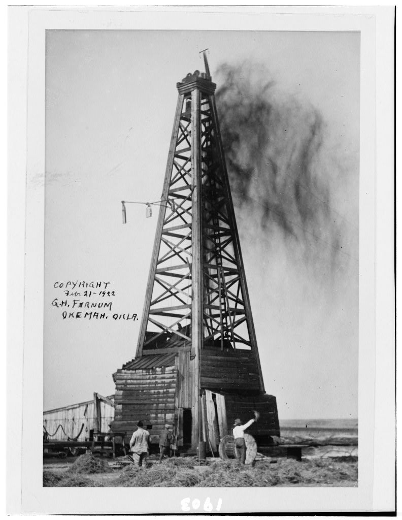 LOC oil OK well 1922