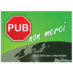PUB NON MERCI