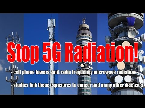Madison WI – Cell providers to install small cell antennas in public right of way to provide 5G service Stop-5G-Radiation-Banner