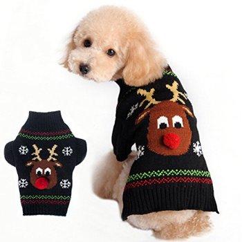 6624b14e4626c 9 – BOBIBI Pet Holiday Cartoon Clown Christmas Dog Sweater