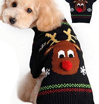 Christmas Dog Sweaters - Perfect Xmas Gift Ideas For Dog Owners 6