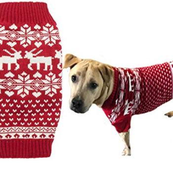 Christmas Dog Sweaters - Perfect Xmas Gift Ideas For Dog Owners 12
