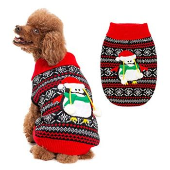 Christmas Dog Sweaters - Perfect Xmas Gift Ideas For Dog Owners 9