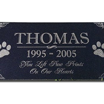 The Best Pet Memorial Stones - A Perfect Way To Honor Your Dog 21
